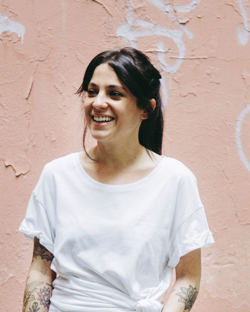 Leticia, responsable del centro de eliminación de tatuajes, Tatualia Chueca